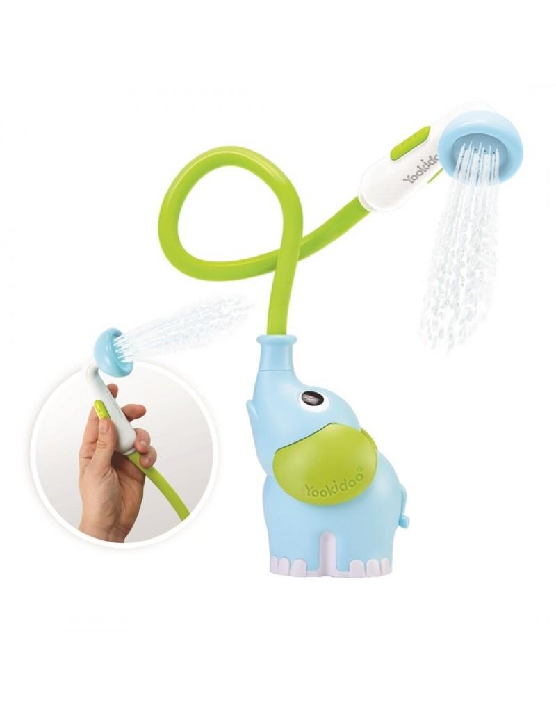 Ducha bañera elefante yookidoo