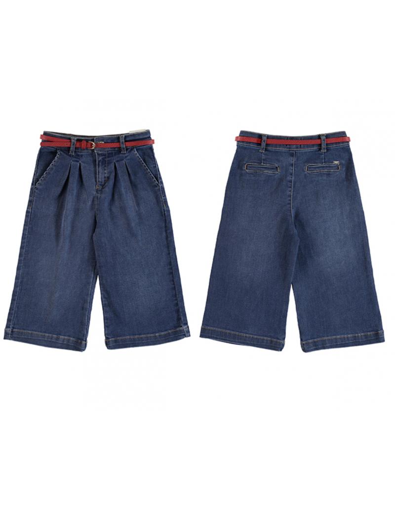 Pantalón ancho tobillero
