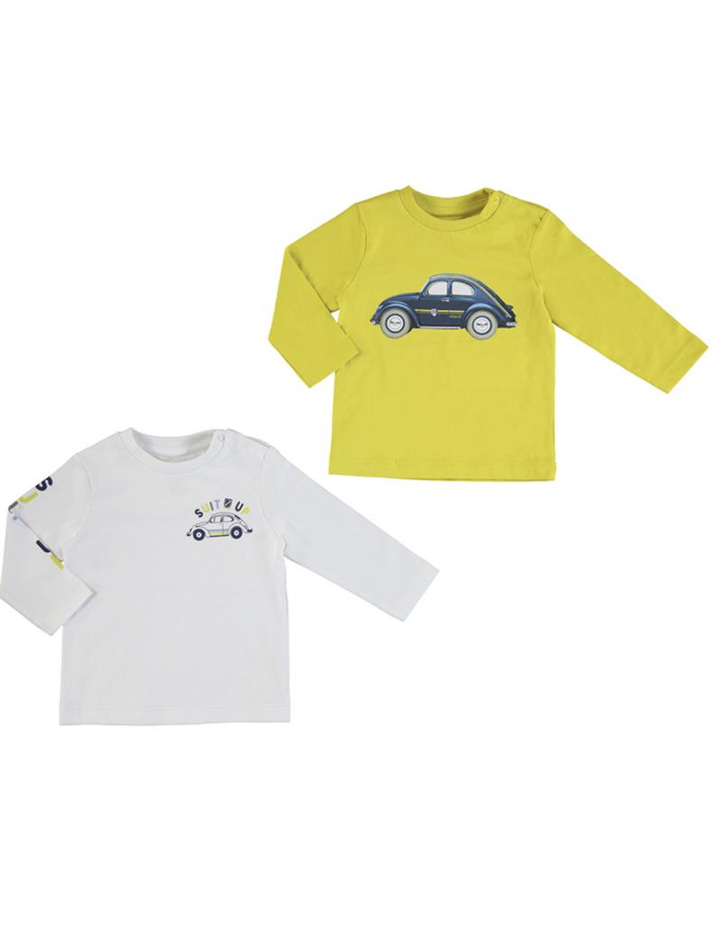 Set de 2 camisetas coche