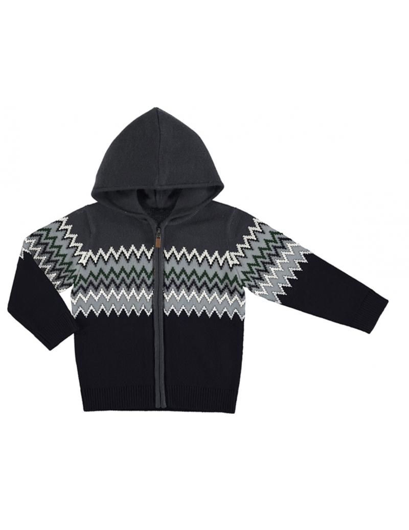 Canguro jacquard tricot