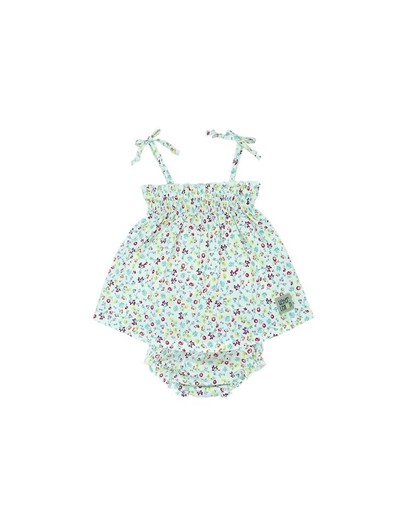 Vestido bebé + braguita
