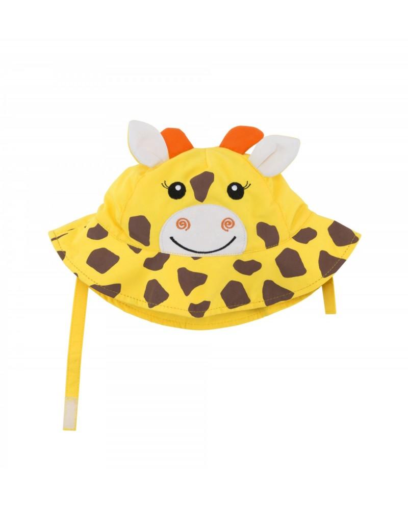 Gorrito de verano jirafa