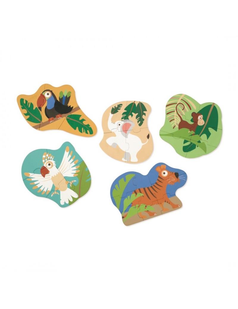 Primeros puzles animales
