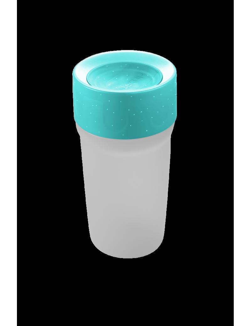 Vaso con luz Azul Frozen 330ml