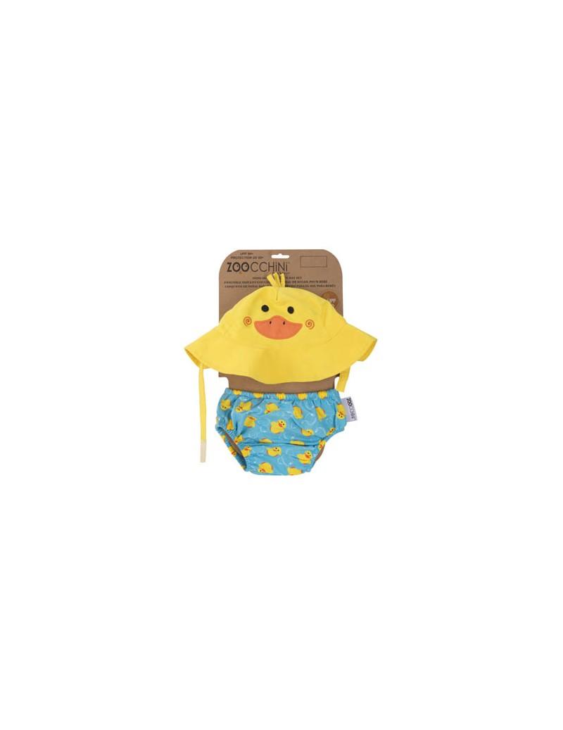 Bañador pañal + Sombrero Pato