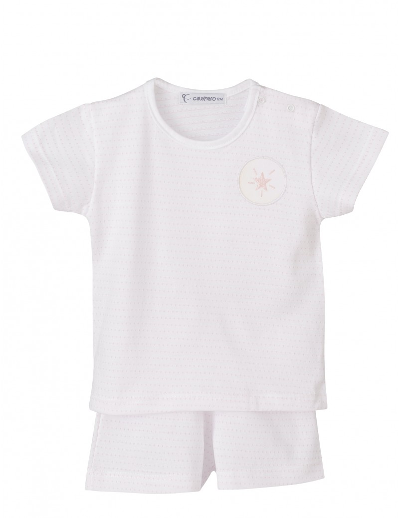 Pijama manga corta Estrellas